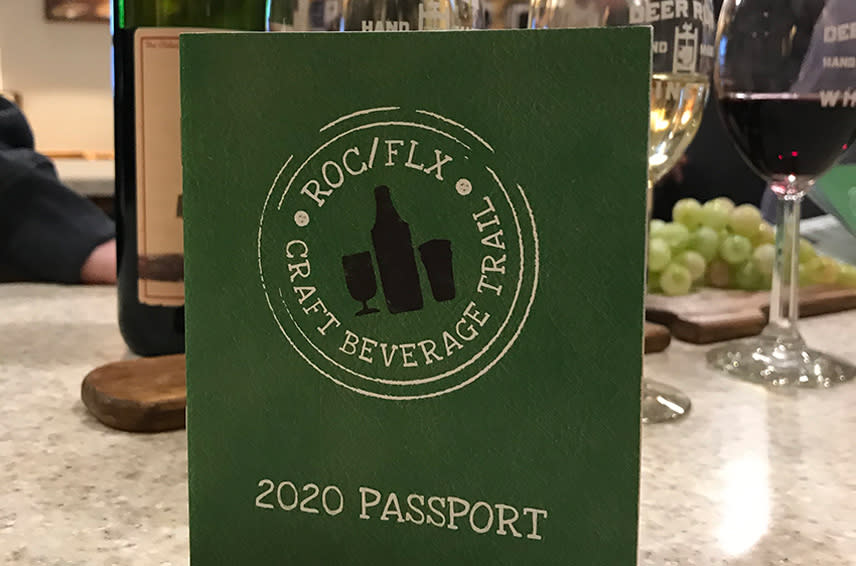 Order a ROC/FLX Craft Beverage Passport