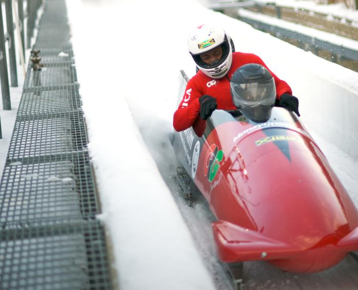 Winter Olympics Bobsled