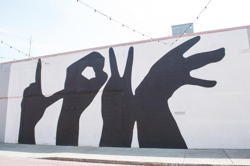 Linden Street Love Mural