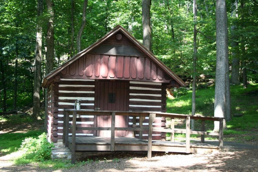 catoctin mountain camping cabin 2