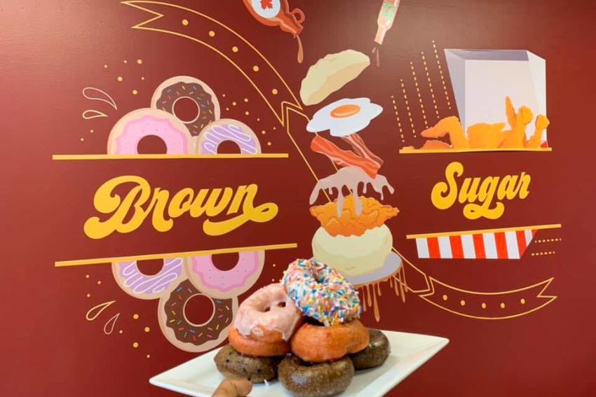 Brown Sugar Chicken & Donuts