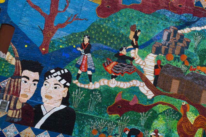 Hmong mural