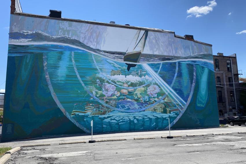 Seneca 634 Mural