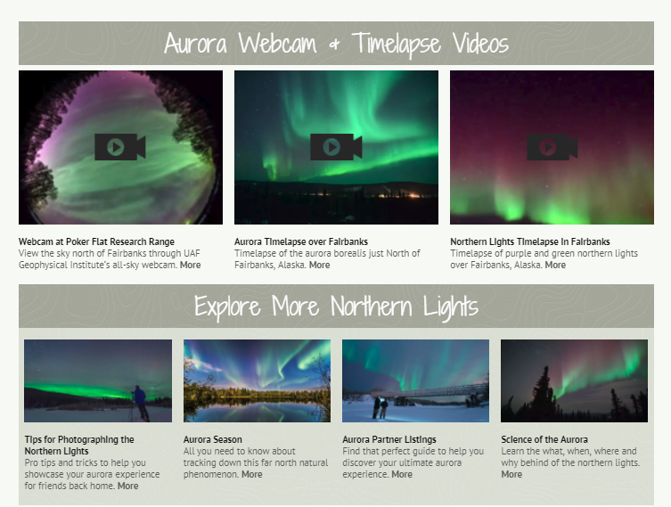 Aurora Tracker | Explore Fairbanks