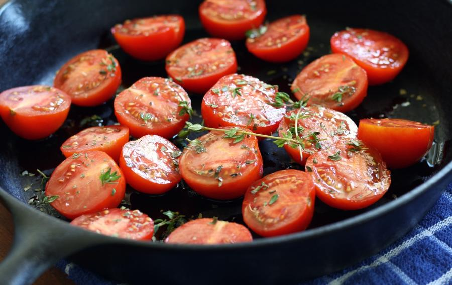 Cast Iron tomatoes
