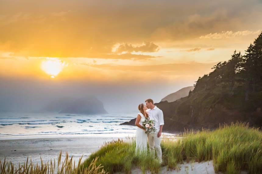 Cannon Beach Wedding Ceremony