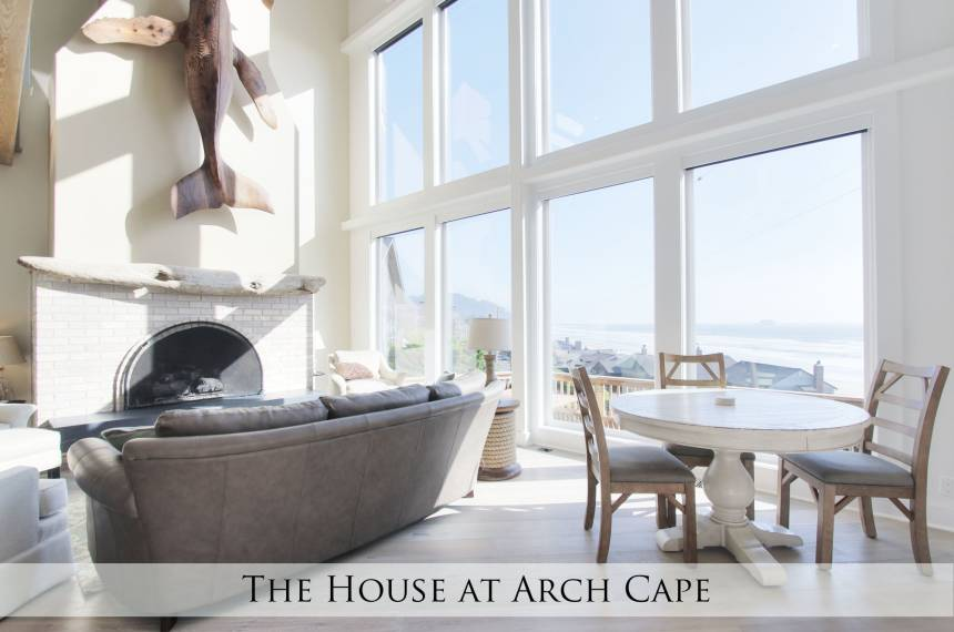 The House at Arch Cape: Living Room