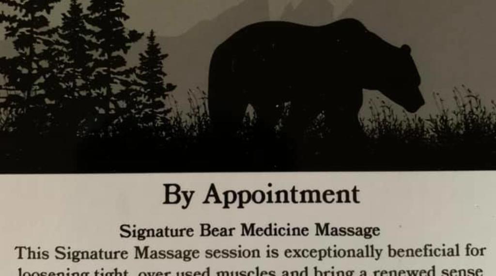Medicine Bear Logo