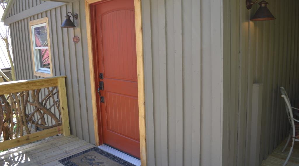 Entrance to Honeymoon Cottage