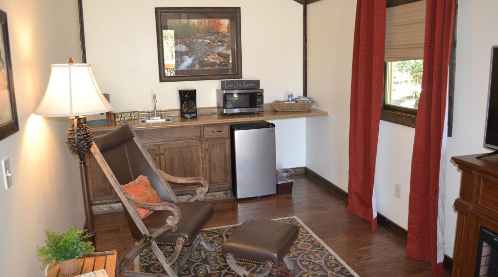 Interior of Honeymoon Cottage