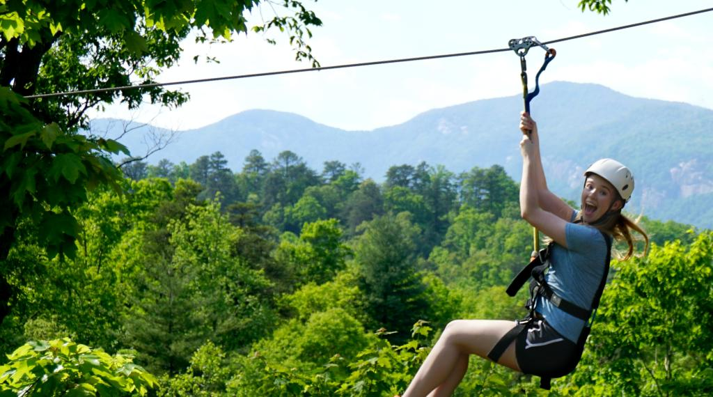 Zipline at Canopy Ridge Farm