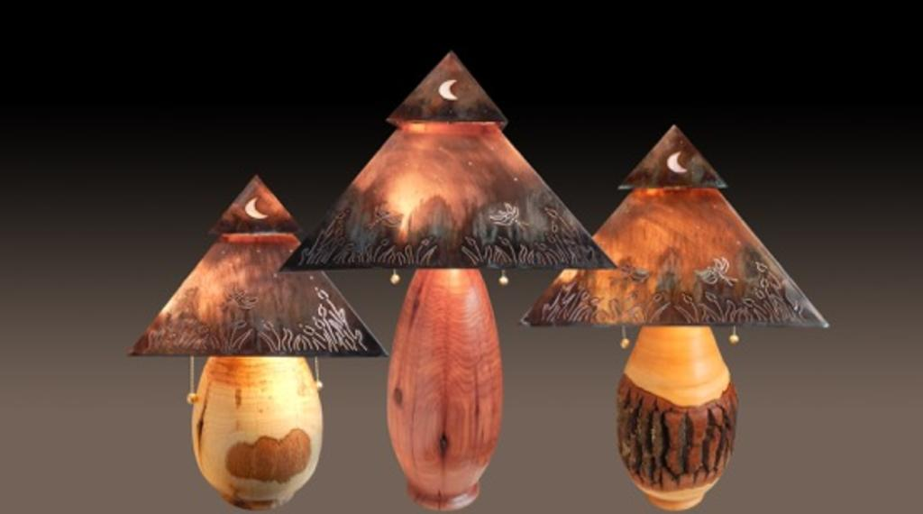 Turned Lamp Bases