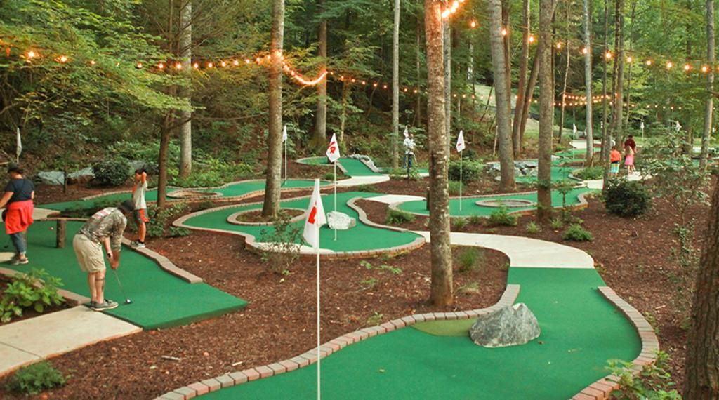 18-Hole Mini Golf Course