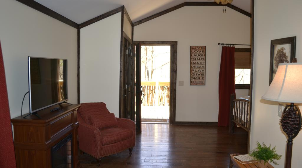 Interior of Honeymoon Cottage