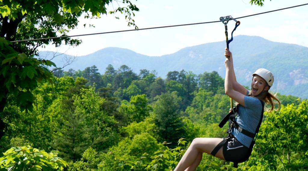 Zipline at Canopy Ridge Farm