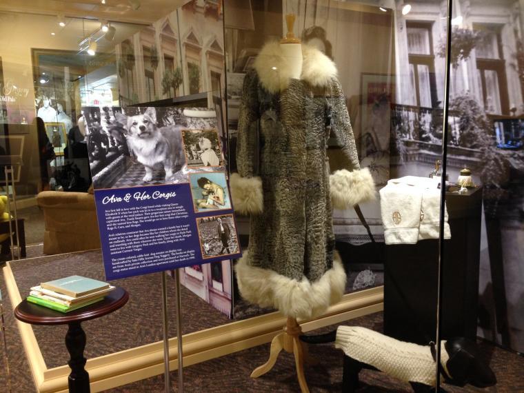 Ava Gardner Exhibit Corgis