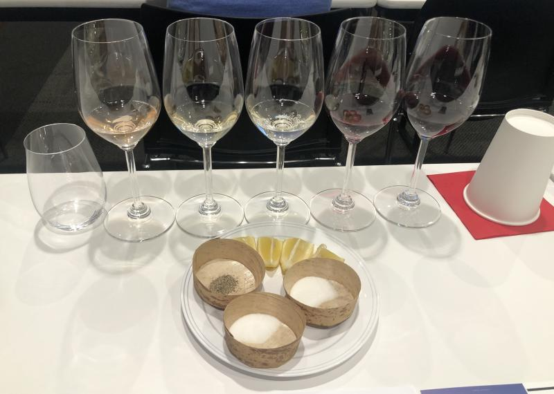 Food and Wine pairing at the San Francisco Wine School