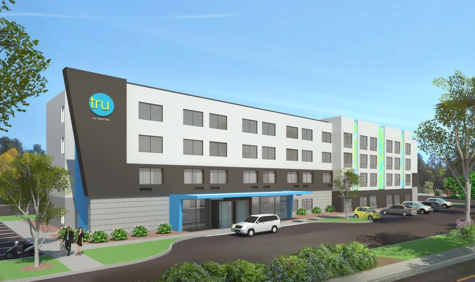 RENDERING: Tru by Hilton Hershey Chocolate Avenue