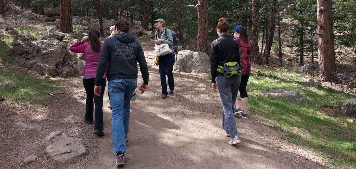 OSMP Group Hike in Boulder, CO