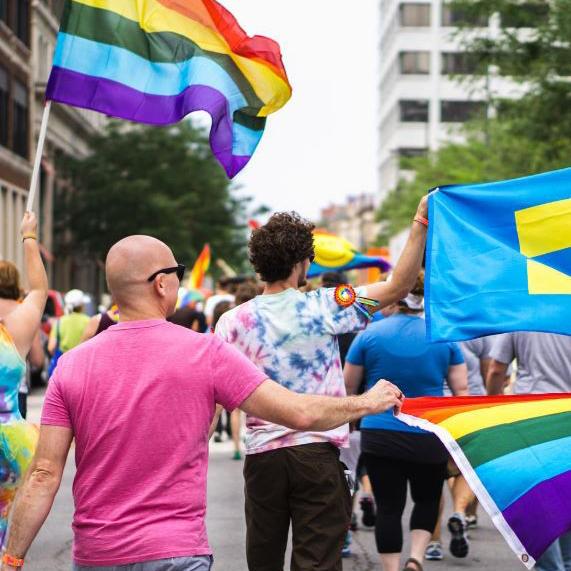 PrideFest Marchers