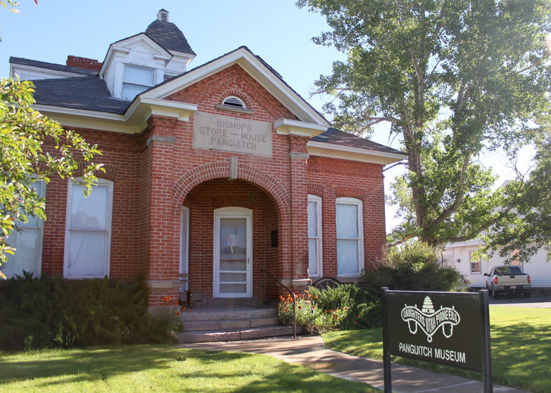 red brick house-panguitch
