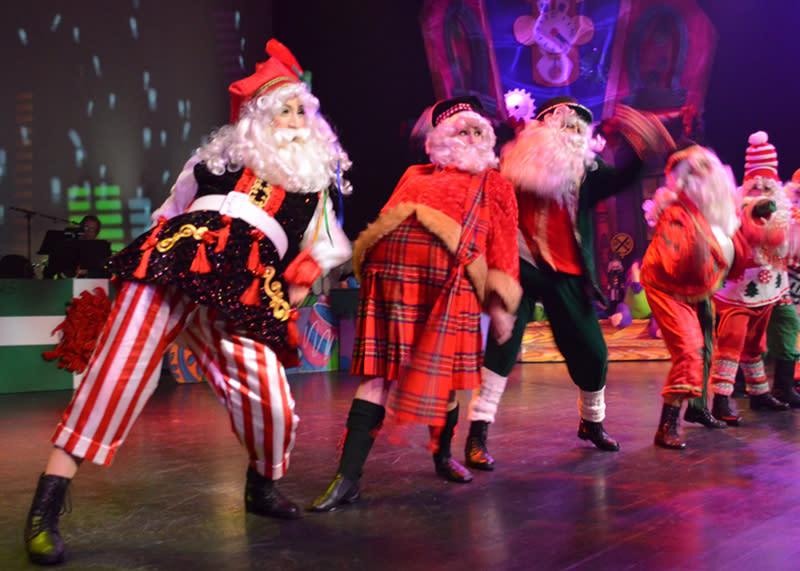 Alabama Theatre Santa Dance
