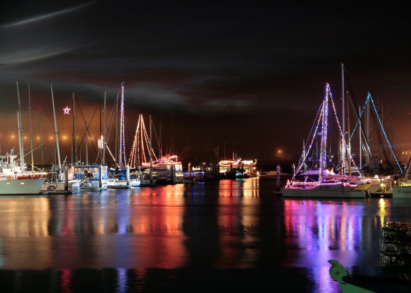 Half Moon Bay Boat Lighting