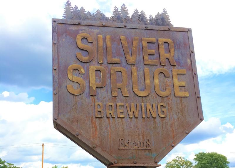 Silver Spruce Sign