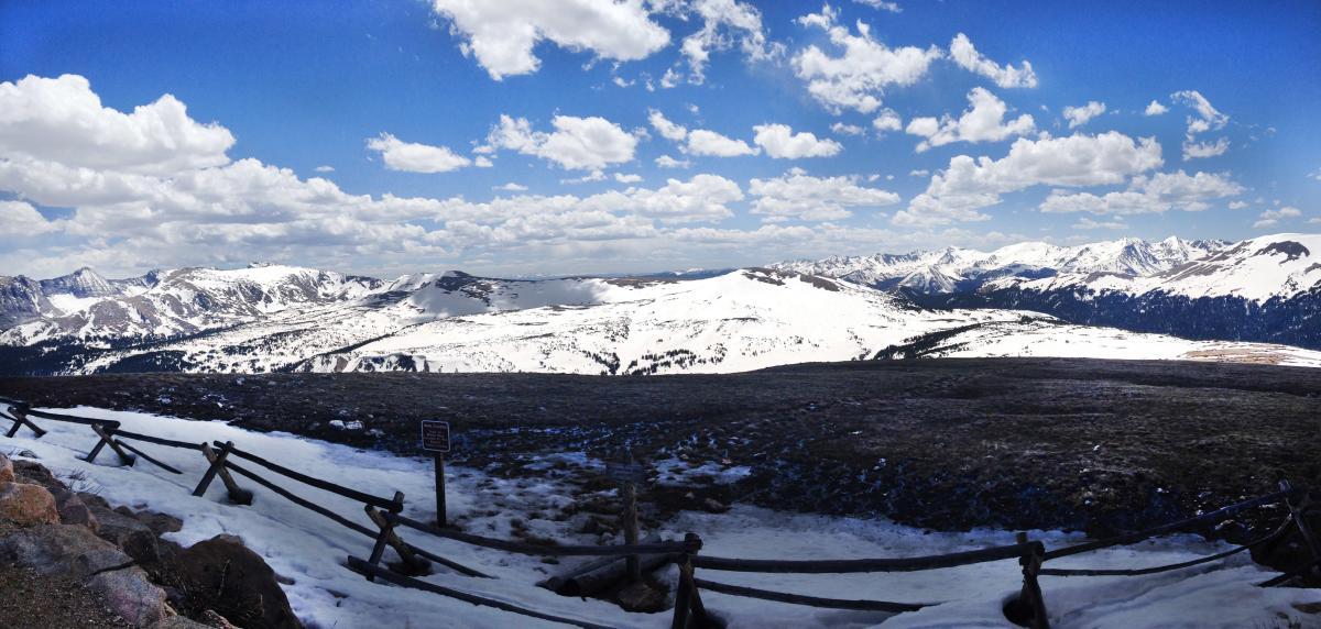Spring on Trail Ridge Road