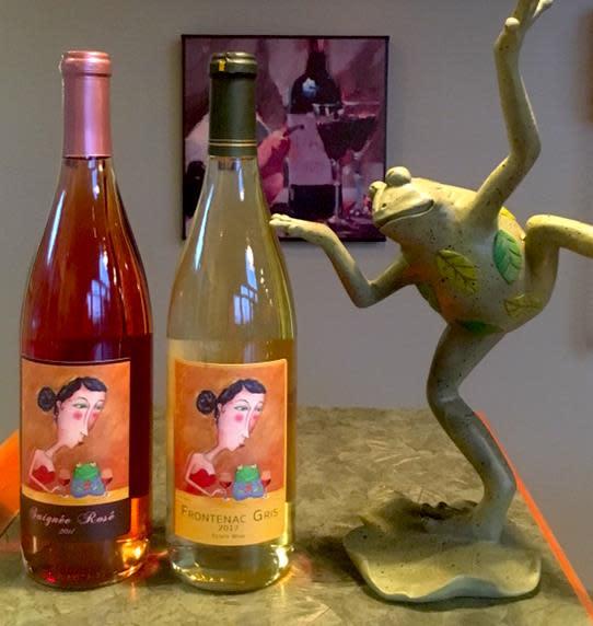 Saignee Rose Greendance Winery