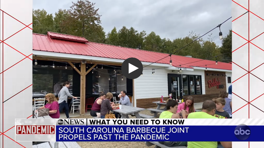 "ABC News: ""The South Carolina barbecue joint propelling past the pandemic"""