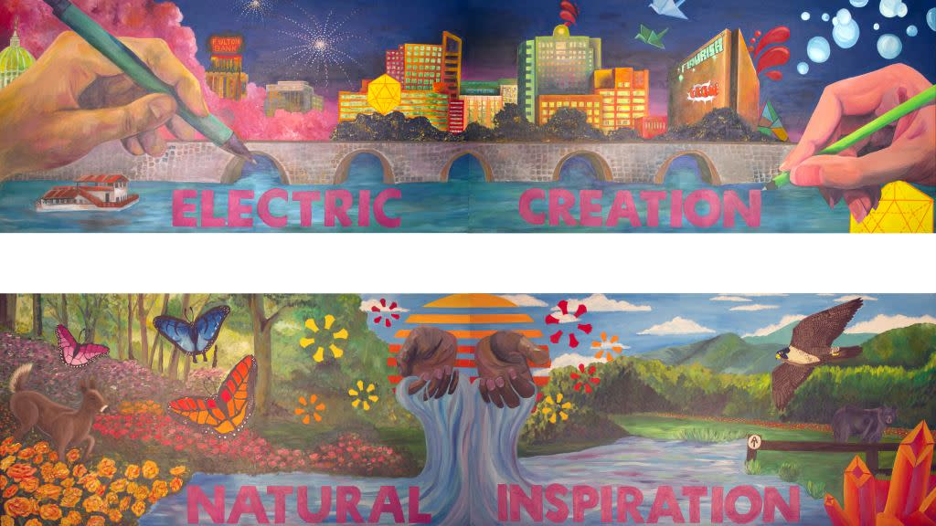 Art Sparks Mural Images of Dauphin County 2017