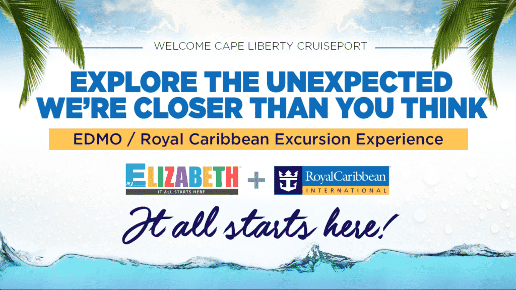 Royal Caribbean Excursion flyer