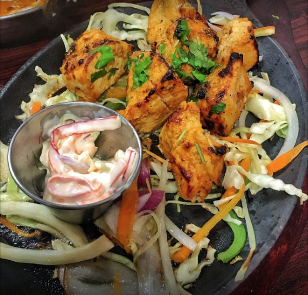 Chicken Tikka at Hyderabad Biryani Hut