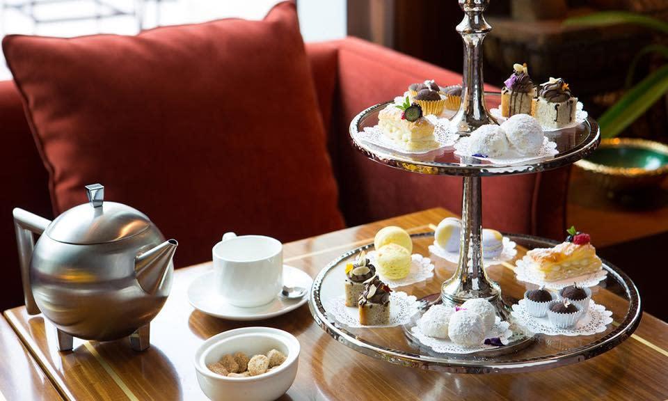 Kiran's afternoon tea service