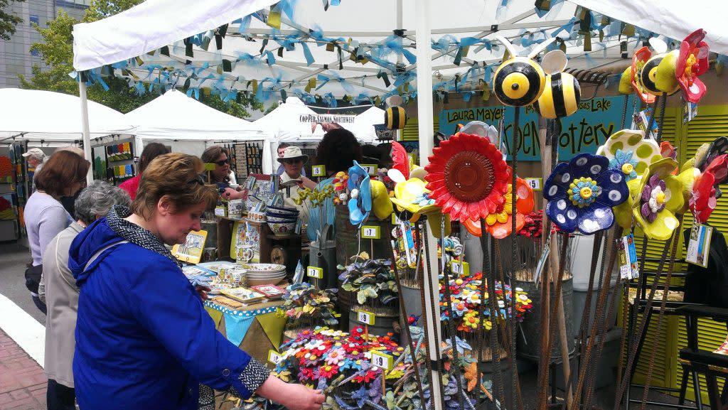 6th Street Fair Booth
