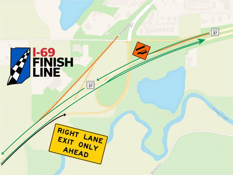 April 17 2020 I69 Map - SR 39 Interchange