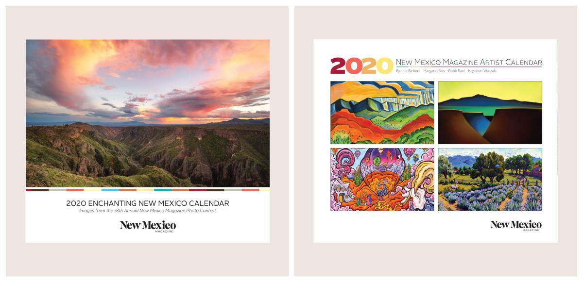 2020 Calendars Collage