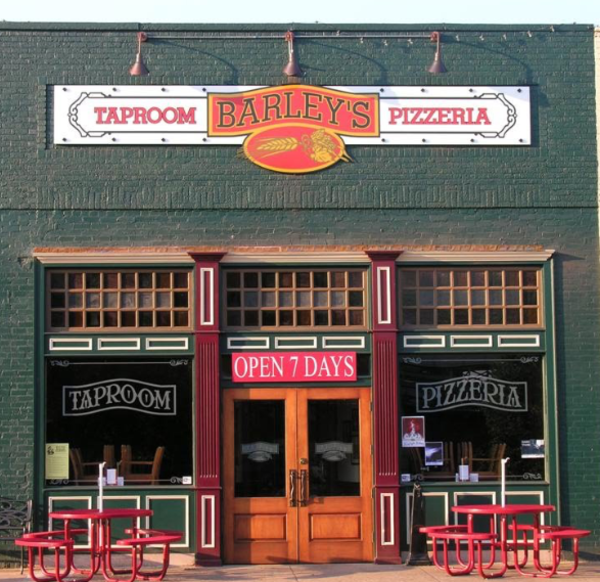 Barley's Taproom and Pizzeria in Spindale