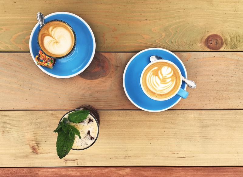 Cappuccino Sandia and Saturday Morning Ritual from Fleet Coffee
