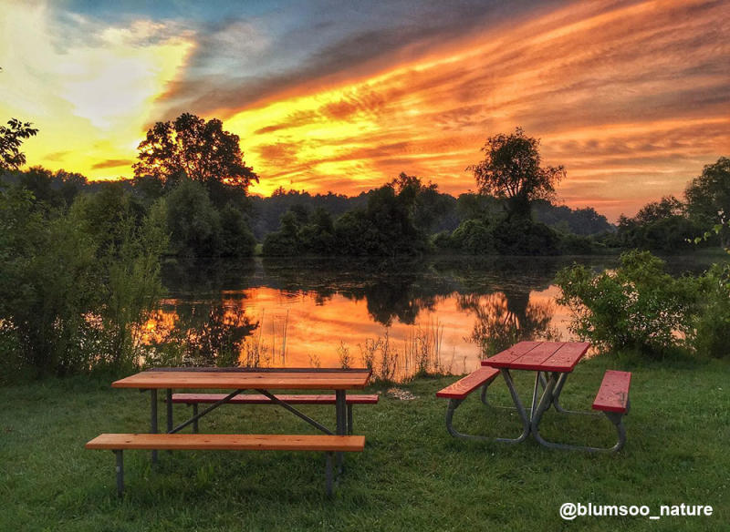 Gallup Park Sunset