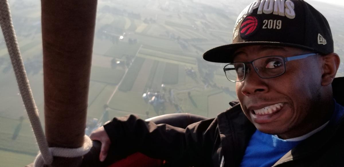 Media Tour - Mike Armstrong DaddyRealness.com Hot Air Balloon 2019