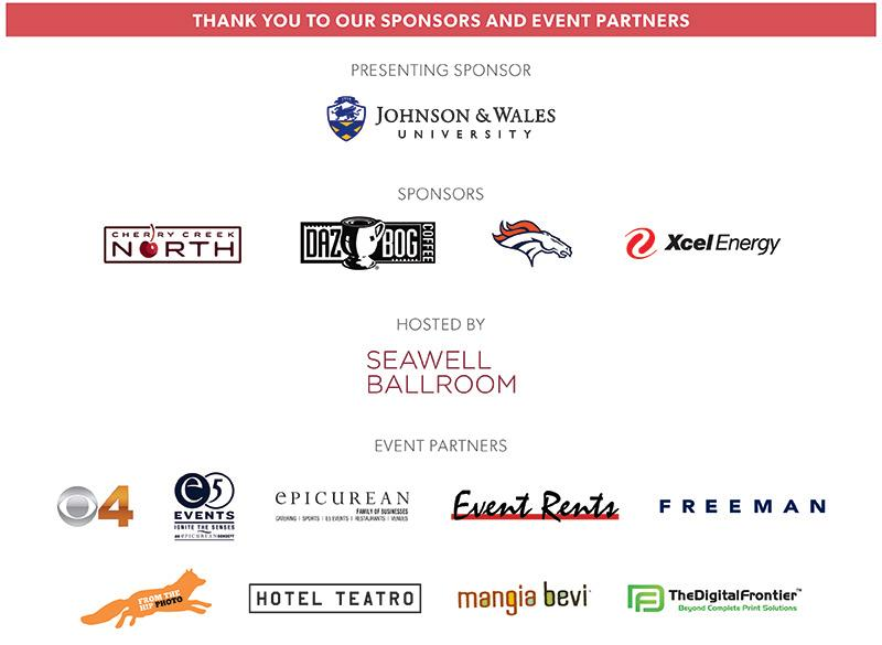 Annual Meeting sponsors 2019