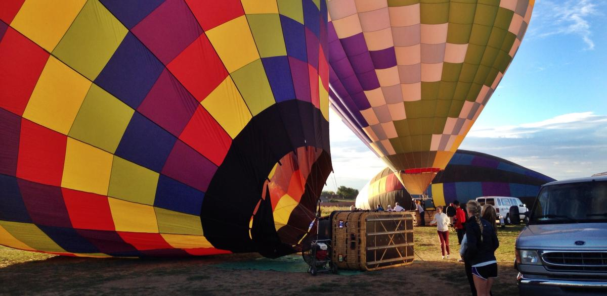 Hot Air Balloons in Boulder