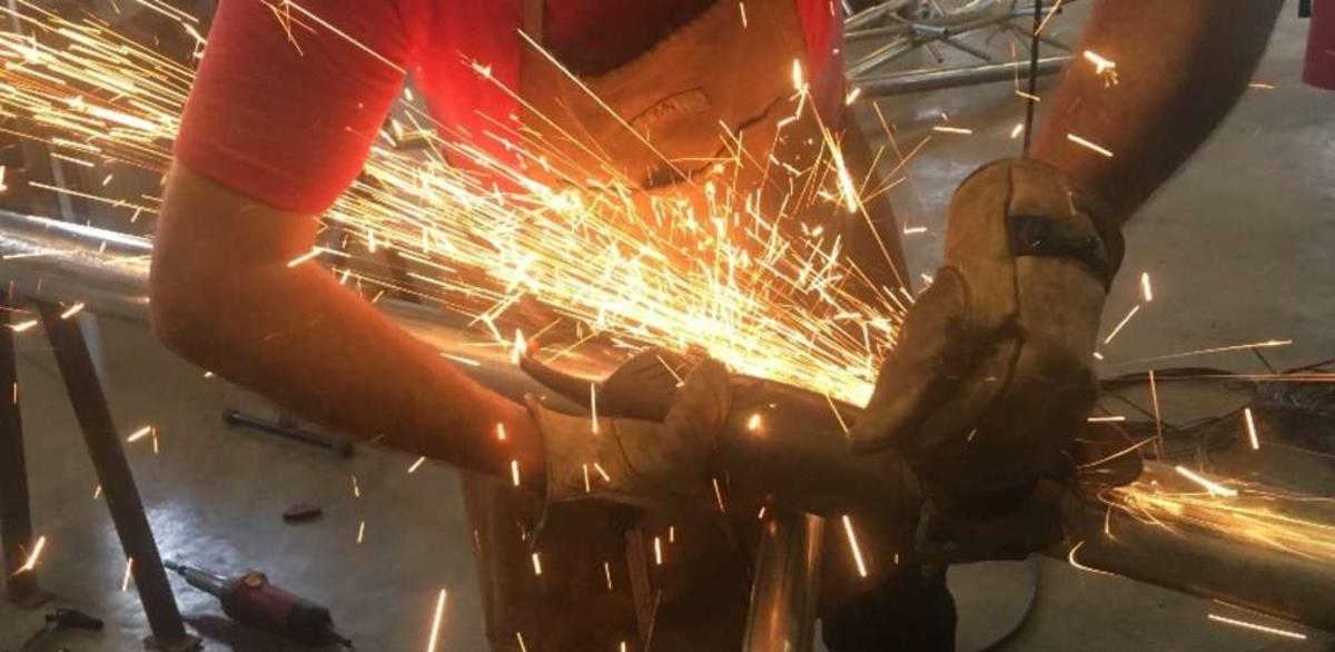 Knox Makers Sparks Flying