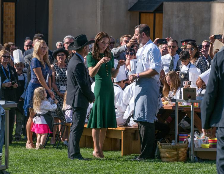 Chef Jeremy Luypen with the Duchess