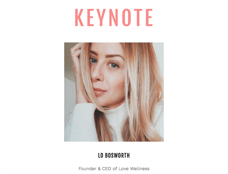 Style Week OC SIMPLY Keynote Speaker Lo Bosworth