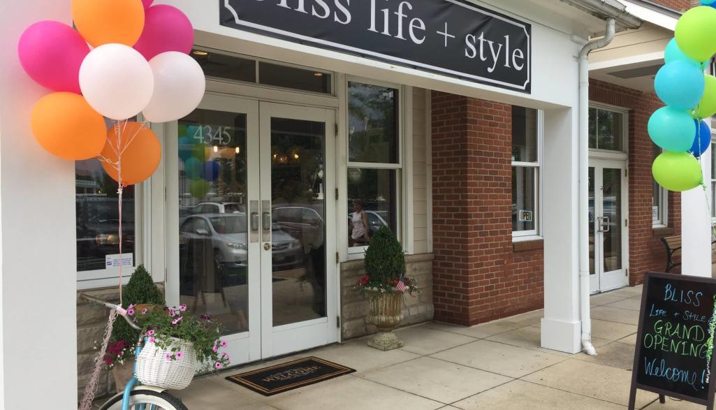 Bliss Life + Style Storefront