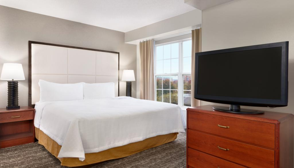 Homewood Suites Bedroom
