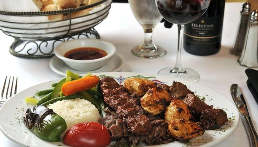 Cafe Istanbul Kebab Platter